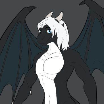 Sadrok Dragon character ref sheet